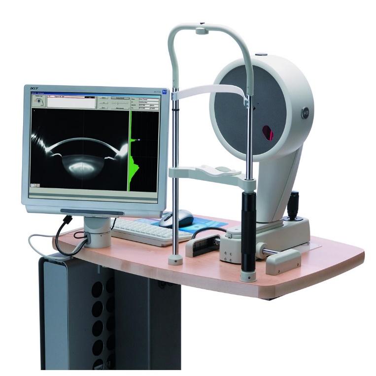 Tomografia Óptica com óculos pentacam HR
